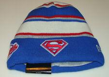 Superman DC Comics Cap Hat New Era Beanie Toque Winter Tradition Action Hero NWT