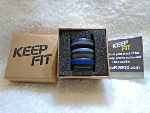 Details about  /3 RING Pack Premium Silicone CROSSFIT WOD Award Winning Light Weight DURABLE