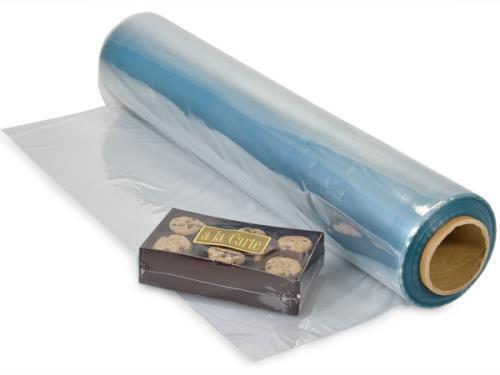 """1 Unit 100 Gauge PVC 18/""""x100/' Shrink Wrap Centerfold Film Unit pack 1"""