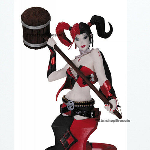 DC COMICS - Super Villains Harley Quinn 2nd Edition Bust Dc Direct
