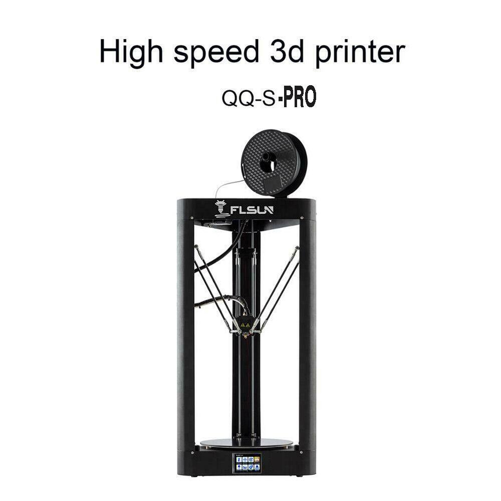 Upgraded Flsun QQ-S-PRO High Speed Metal Frame 3D Printer Auto-leveling Wifi