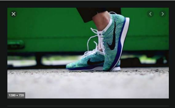 MENS 10.5 W 12 NIKE FLYKNIT RACER SHOES TRANQUIL BLUE GREEN WHITE 526628 104