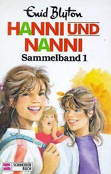 Hanni und Nanni (Sammelband 1) von Blyton, Enid | Buch | Zustand akzeptabel