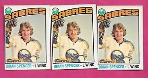 3-X-1976-77-OPC-191-SABRES-BRIAN-SPENCER-EX-MT-CARD-INV-A8885