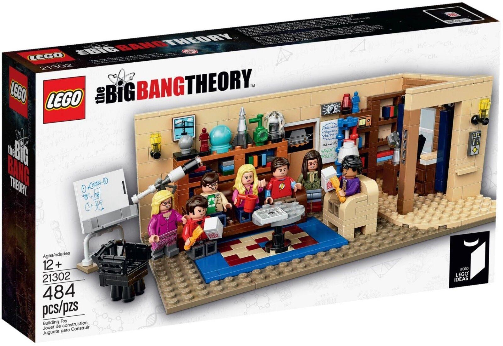 Lego Lego Lego 21302 The Big Bang Theory BRAND NEW e92410