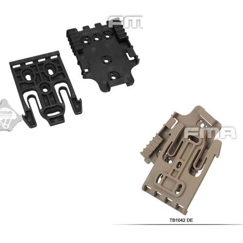 QLS Quick Locking FMA Holster System Kit TB1042-DE/BK