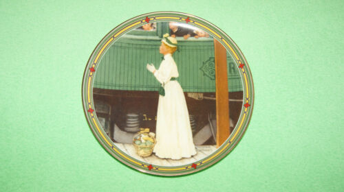 A Mother's Welcome collector plate Norman Rockwell's American Dreams signed