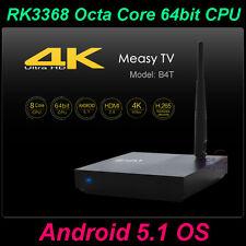 Measy B4T 4K Octa 8 Core 64bit Android 5.1 TV Box H.265 KODI XBMC Media Player