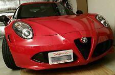 ALFA ROMEO 4C NO HOLES License Plate Bracket Kit