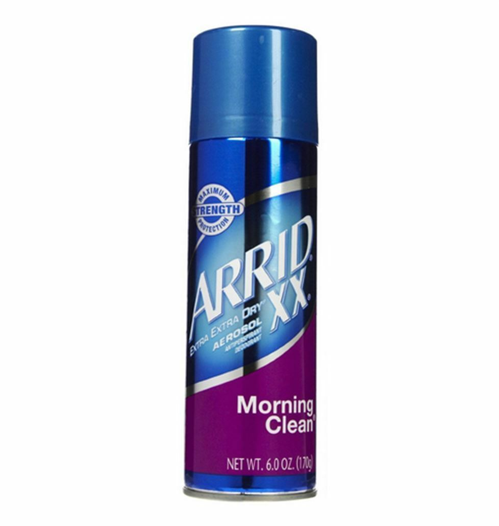 xx anti perspirant deodorant spray morning clean