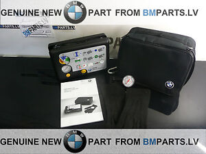 new genuine bmw tire mobility set 71102333674 ebay. Black Bedroom Furniture Sets. Home Design Ideas