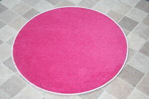 Rose-vif-filles-sparkle-rose-paillettes-chambre-a-coucher-tapis-rose-girly-cercle-80cm-tapis