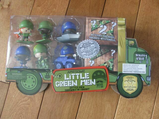 Awesome Little Green Men 8 Battle Pack Series 1 Style 2