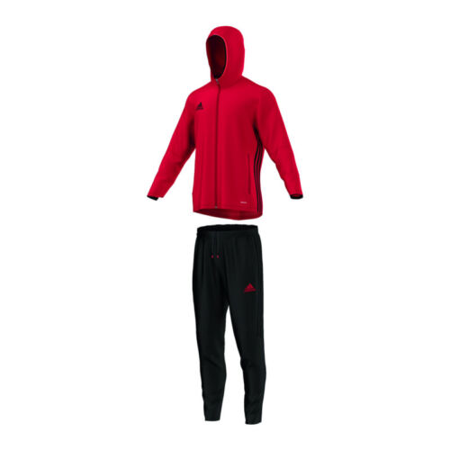 Adidas Condivo 16 Presentation Suit Red Black