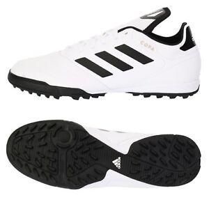 8bffaabdce7 Adidas Men COPA Tango 18.3 TF Cleats Futsal White Shoes Soccer GYM ...