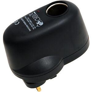 240V-Viaje-Electrico-Conector-a-12V-Encendor-Mechero-Enchufe-Coche