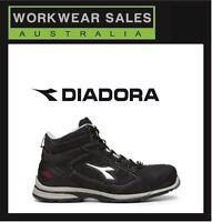 Diadora Jet High Cut Mens Workboots Safety Boots Only Aussie Seller
