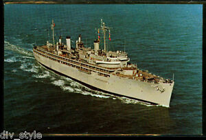 Uss-Vulcan-AR-5-Carte-Postale-Nous-Marine-Reparation-Vaisseau