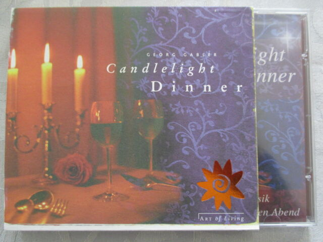 Georg Gabler - Candlelight Dinner - CD Neu & OVP NEW & Sealed