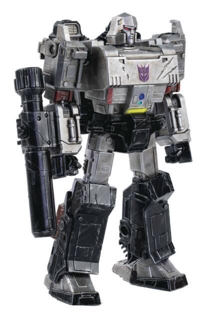 ThreeZero Transformers War for Cybertron Megatron Dlx Diecast Figure