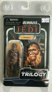 100% De Qualité Trilogie Star Wars Collection Chewbacca Figure Disney Le Retour Du Jedi-afficher Le Titre D'origine