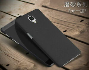 online store cc605 136a8 Details about Slim Sandstone Quicksand Hard Shell Back Cover Case Skin For  Oneplus 3 3t