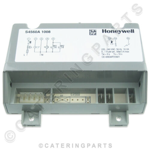 HONEYWELL S4560A1008 GAS IGNITION CONTROLLER BOX LAINOX CONVECTION OVEN