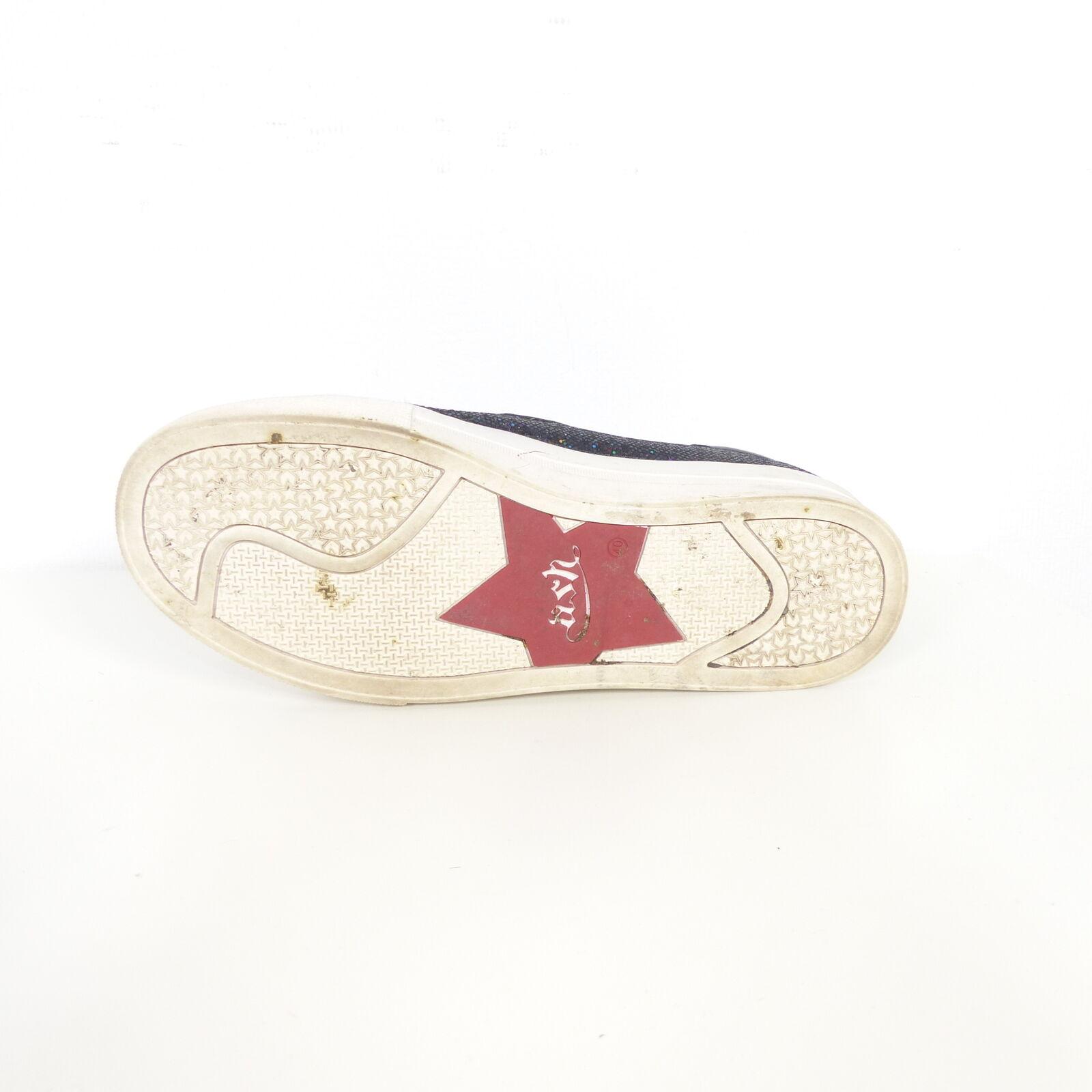 ASH ASH ASH Sneaker Turnschuhe Glitzer black Bunt Gr. EUR 40 d166fd