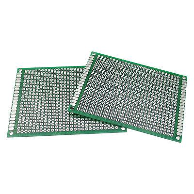 5Pcs Double side Protoboard Circuit Universal DIY Prototype PCB Board 8x12cm