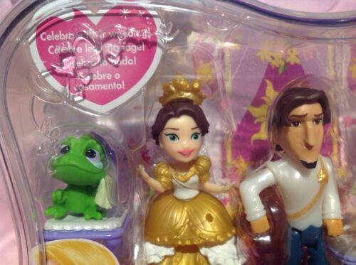 Disney Princess Little Kingdom Rapunzel/'s Royal Wedding Dolls Set  Carrying Case