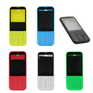on sale fb407 16639 Details about For Nokia 225 New Full Case Housing Shell Battery Cover Front  Lens Cover Keypad