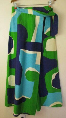 Malia Honolulu Vintage maxi skirt women's M wrap