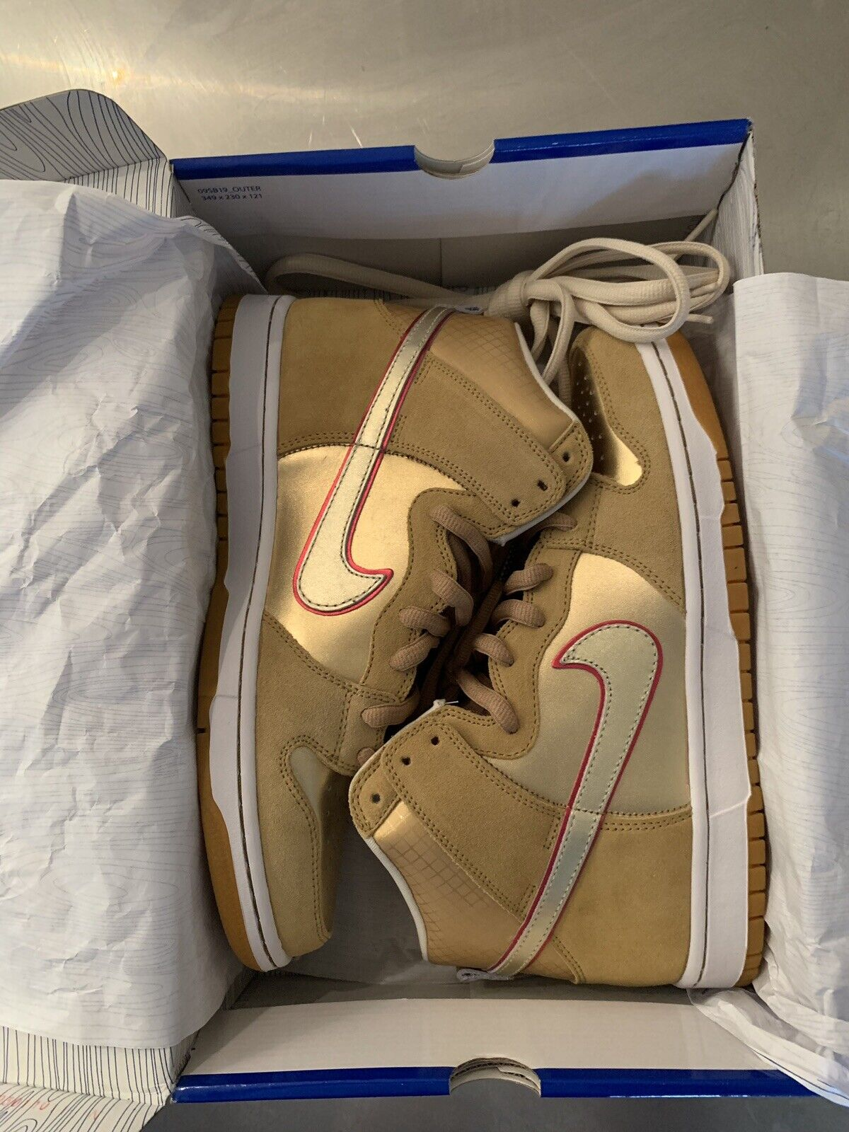 "Nike Dunk SB High Koston ""Thai Temple"" Size 10 VNDS"
