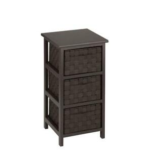 3-Drawer Storage Chest Bedroom Organizer Clothes Storage ...