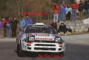 Details about Juha Kankkunen Toyota Celica Turbo 4WD Monte Carlo Rally 1993  Photograph 1