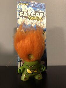 kidrobot fatcap figure Series 3 Graffiti Urban Designer Toy MCA Green Hulk