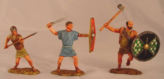 Conte SPARTACUS Roman Slaves SPAN023 LOOSE 1 AV DE MOST RARE AV ALLA Våra SET