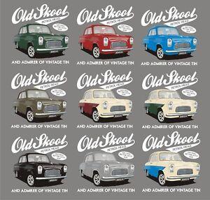 Ford-Anglia-100e-Pop-Coche-Clasico-Camiseta-Muy-Retro-Camiseta-Vintage-Coche-Regalo