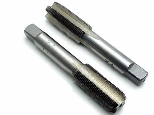 New HSS 14mmx1 Metric Taper and Plug Tap Right Hand Thread M14 x 1mm Pitch