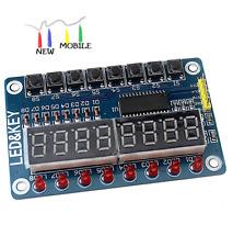 TM1638 8-Bit Digital LED Tube Key Display Modulo AVR para Arduino Raspberry PIC