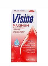 VISINE MAXIMUM Redness Relief Eye Drops 0.5oz 312547493390a425
