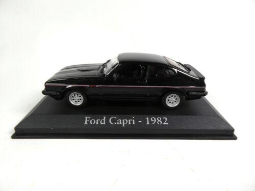 Ford Capri 1982-1//43 Voiture Miniature Model Car RBA27