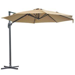 10 Cantilever Roma Offset Umbrella Patio Outdoor Hanging