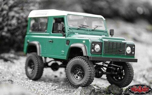 RC4WD Gelande listo para correr Camión Kit II con defensor D90 Body Set Z-RTR0031