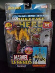 Figurine d'action Toybiz 2006 de Luke Cage Mojo de Marvel Legends