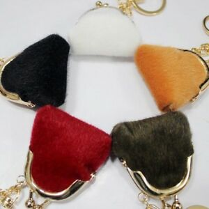Handbag-Fur-Pendant-Car-Small-Bag-Ball-Mink-Key-Chain