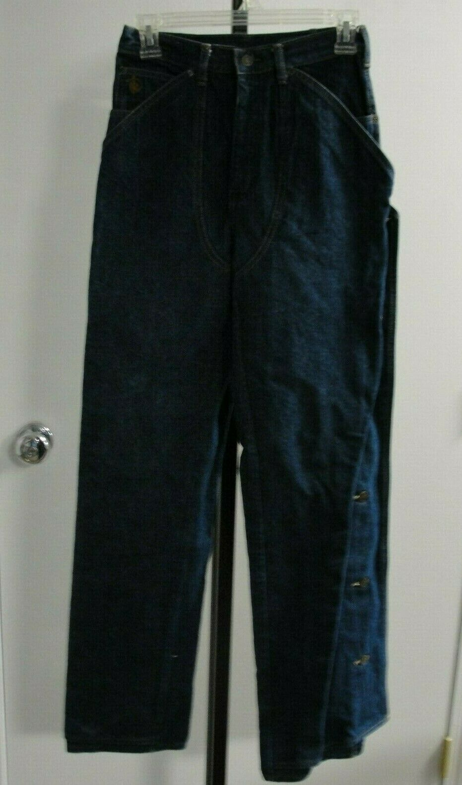Kenny Rogers Men's Vintage Jean Chaps, Size 26 X … - image 5