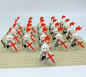 21x-Knights-Army-Soldiers-Mini-Figures-LEGO-Compatible