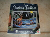 Designs For The Needle Christmas Tradition Silent Night Cross-stitch Kit