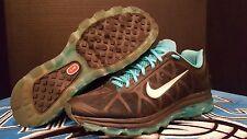 Men's Nike Air Max Plus 2011 sz 12 429889-040 Running Shoes Black Blue Silver